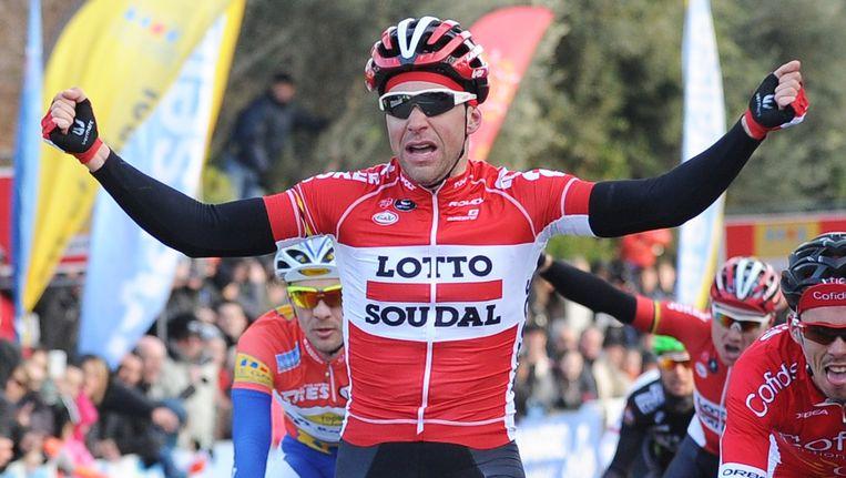 De 26-jarige Fransman Gallopin bewijst vroeg op het seizoen alweer zijn meerwaarde voor de Belgische Lotto-formatie.
