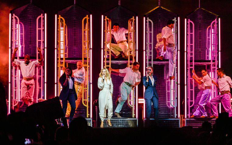 Kylie Minogue op Rock Werchter 2019
