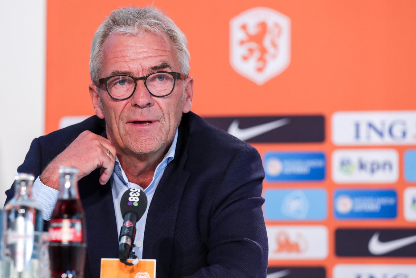 Eric Gudde, directeur betaald voetbal van de KNVB.