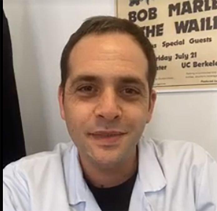 Alexandre Bleibtreu, infectiologue à La Pitié Salpêtrière