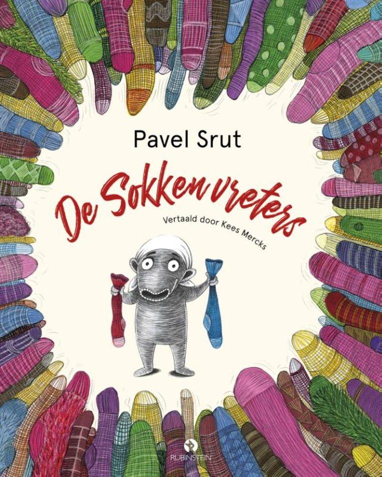 Pavel Šrut:De sokkenvreters  Uit het Tsjechisch vertaald door Kees Mercks.  Rubinstein,€ 19,99 Beeld rv