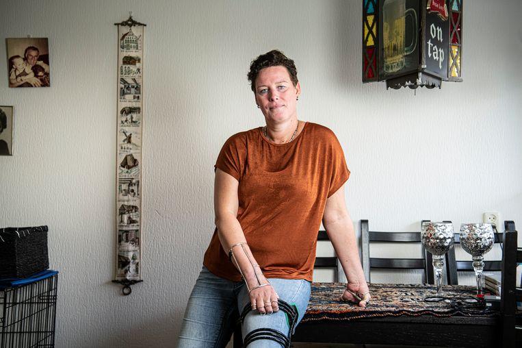 Ingrid Bakker. Beeld Koen Verheijden