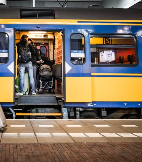 Treinspoor verzakt in de slappe grond van de Hoeksche Waard: 'Dat kan gevaarlijk worden bij hoge snelheden'