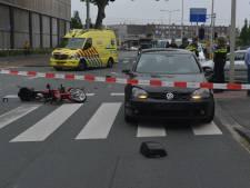 Bromfietser gewond na aanrijding bij Calandstraat