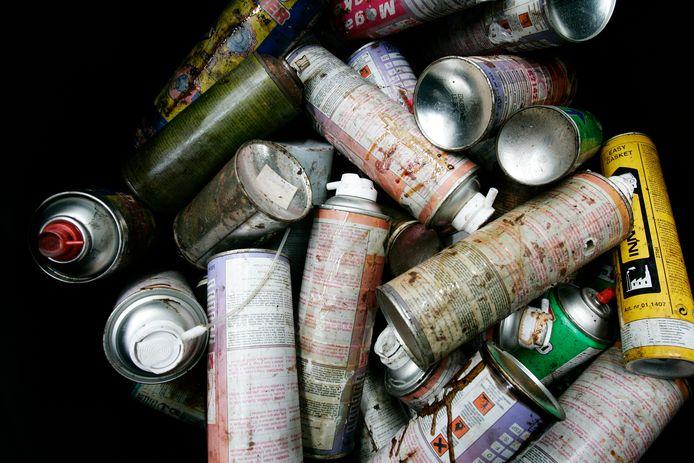 Afval hier gefotografeerd in Rotterdam. Het gaat niet om het afval zoals dat is gedumpt in Goirle.