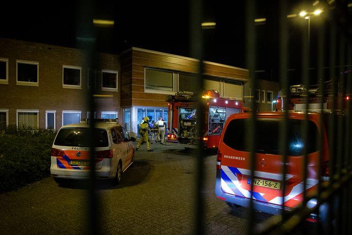 Incident bij de Pompekliniek dinsdagavond in Nijmegen.