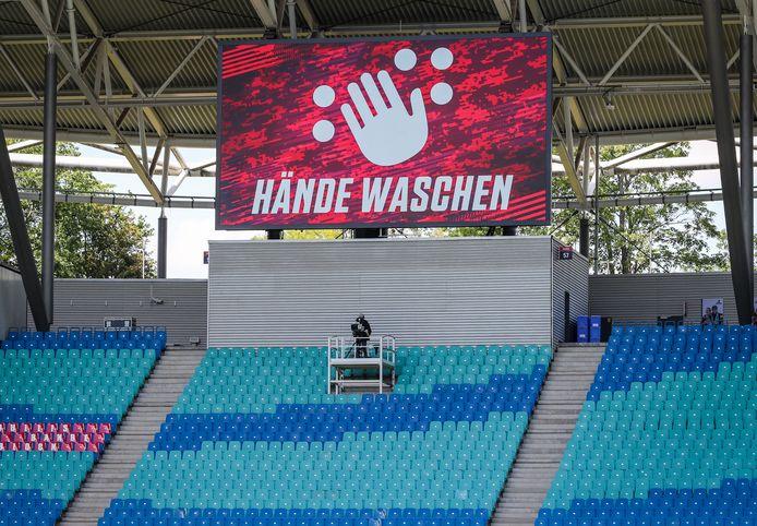 Duidelijke boodschap voor het duel tussen RB Leipzig en SC Freiburg.