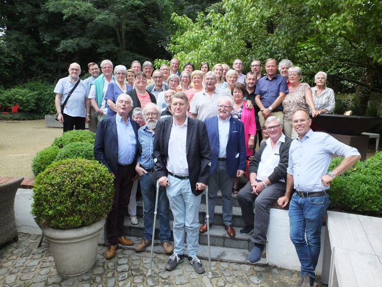 De organisatoren en vrijwilligers van de Schotse Dagen kwamen woensdag samen in d'Ouwe Hoeve in Deurle.
