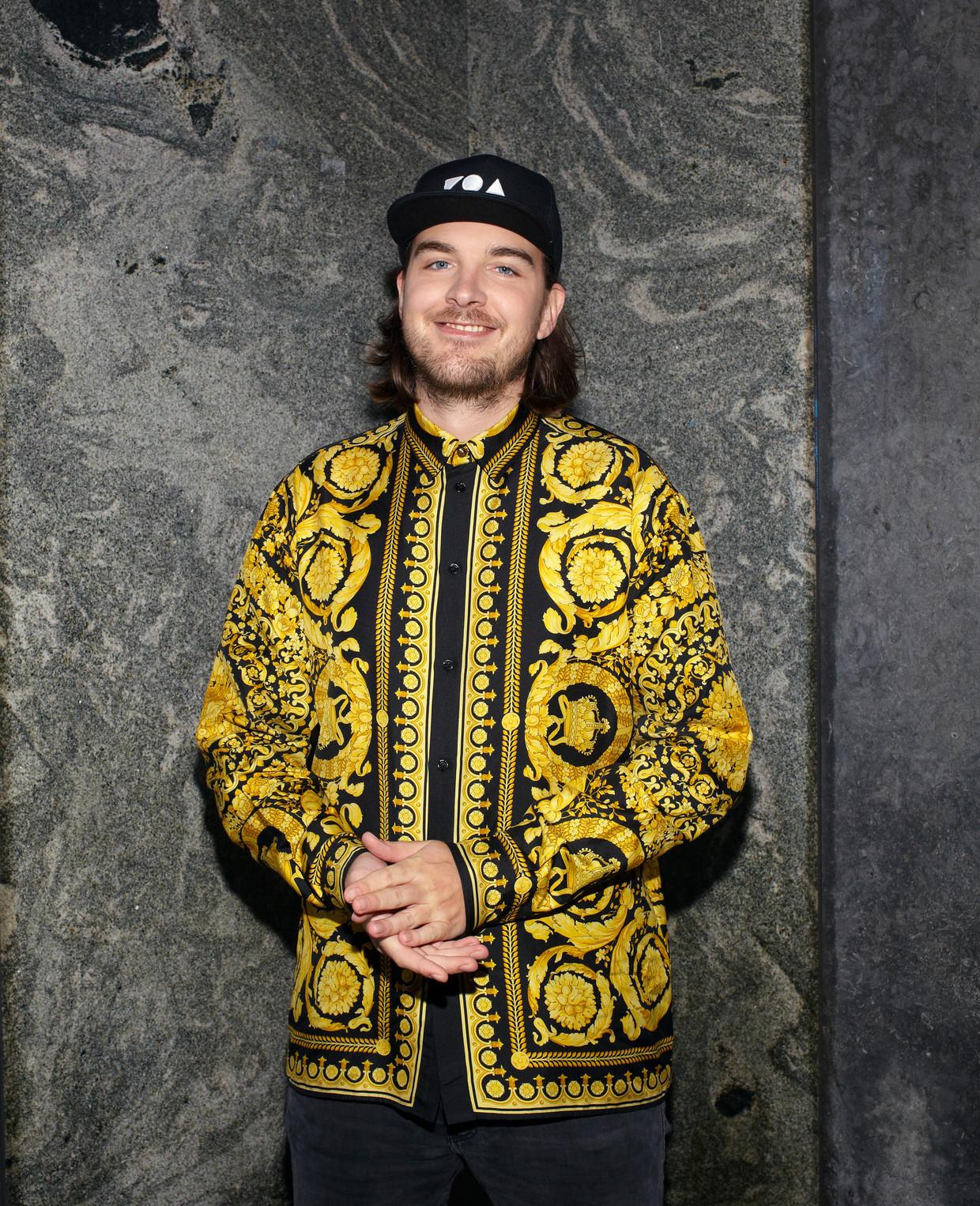Reinier Zonneveld: 'Ik zat tot diep in de nacht tracks te maken, die ik dan kon draaien op die illegale feesten.' Beeld Daniel Cohen