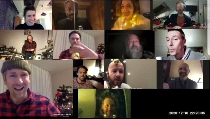 Wijgmaalse artiesten zingen samen 'Ne Schuenen Dag