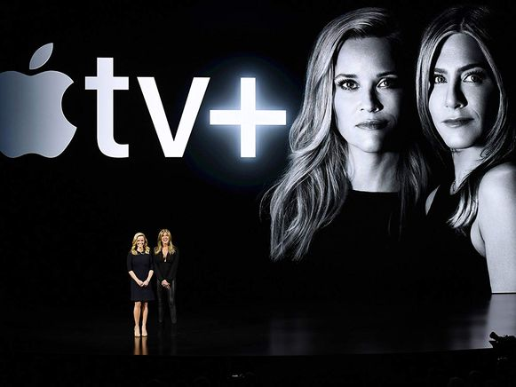 The Morning Show met Jennifer Anniston en Reese Whiterspoon wordt dé trekpleister van Apple TV Plus.