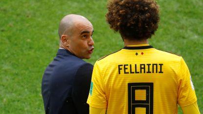 """Bondscoach Martínez looft Fellaini: """"Marouane vormt inspiratiebron voor jongeren"""""""
