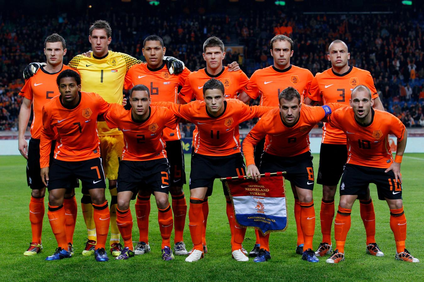 Sneijder en Maduro samen in Oranje.