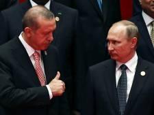 Poutine et Erdogan évoquent un cessez-le-feu à Alep