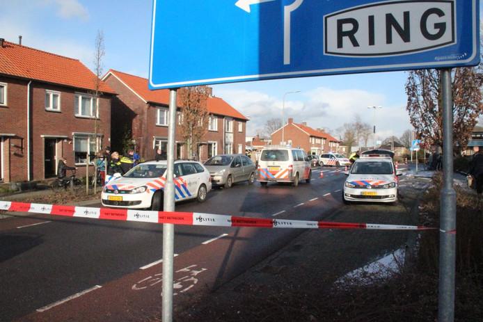 Een 6-meisje werd op de oversteekplaats op de Welleweg geschept door een auto.