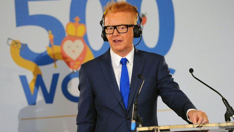BBC Radio 2-presentator Chris Evans.