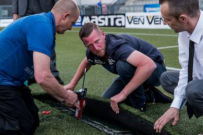 Scheur in kunstgras: duel FC Den Bosch afgelast