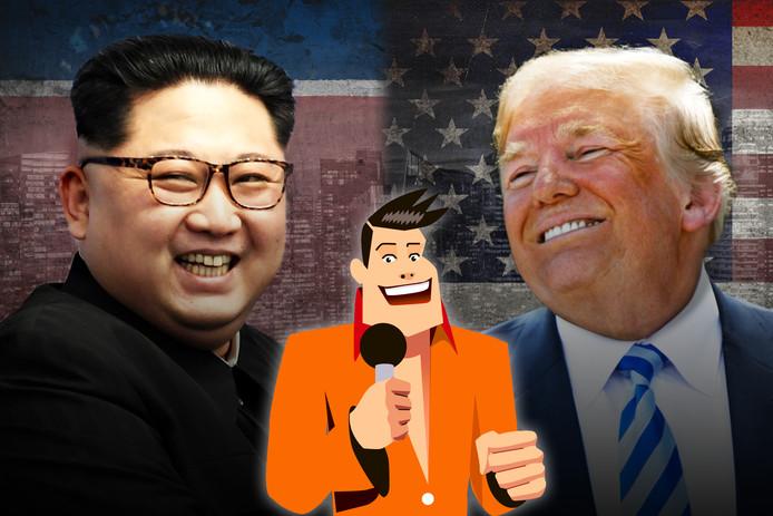 Kim Jong-un ontmoet Donald Trump op 12 juni in Singapore.