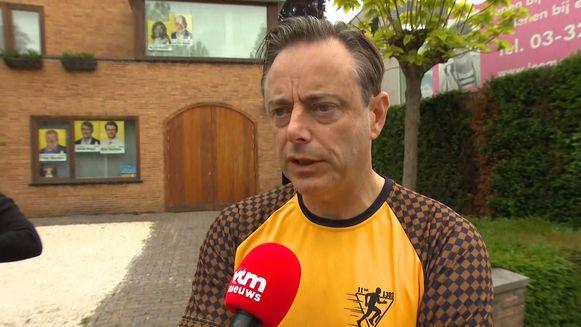 Bart De Wever bij Julie Colpaert
