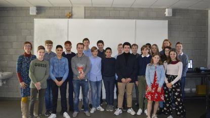 Leerlingen werken samen met Kontichse bedrijven