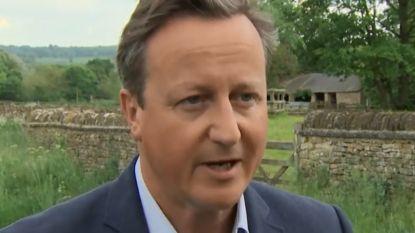"""Mays voorganger David Cameron: """"Ze heeft ongelooflijk hard gewerkt"""""""