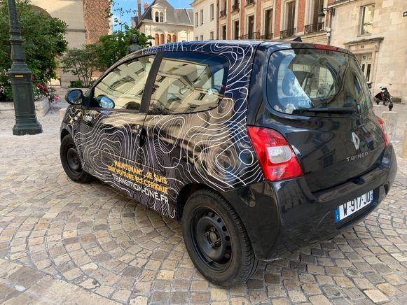 Tot nu toe is alleen deze Renault Twingo omgebouwd