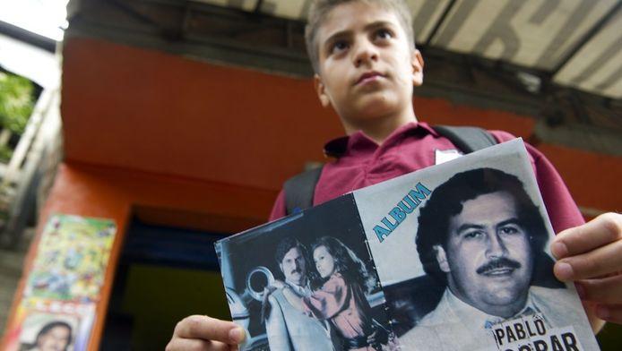 Het boek gaat vooral in Medellin over de toonbank.