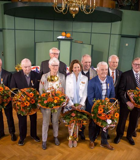 Koninklijke hulde voor 11 trotse Oldenzalers