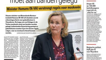 Vlaams Belanger Penris roept 'trut' naar Van Cauter