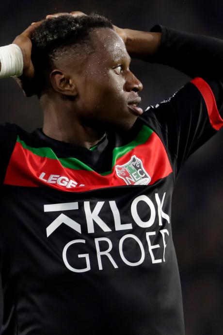 Jonathan Okita maakt seizoen het liefst af bij NEC
