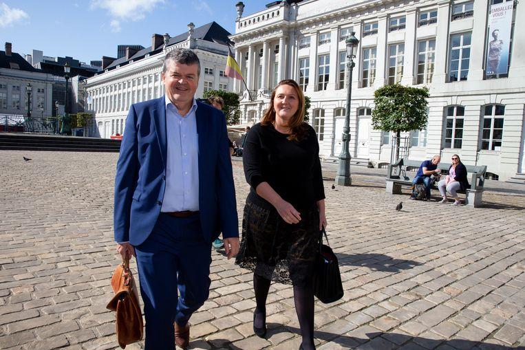 Bart Somers en Gwendolyn Rutten op vrijdag