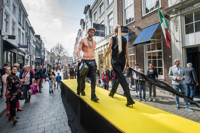 Breda Fashion Weekend 2019 in de Veemarktstraat.