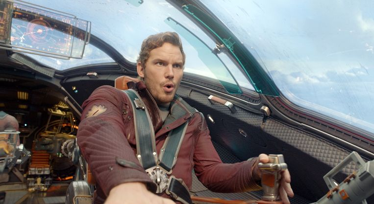 Chris Pratt in 'The Guardians of the Galaxy'
