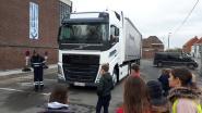 Vrachtwagentest leert kinderen bij over dode hoek