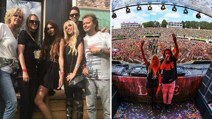 """De MATTN-crew ziet Anouk schitteren op mainstage Tomorrowland en omarmt de """"lieve kwajongen"""" Dimitri Vegas"""