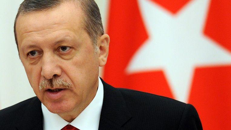Premier Recep Tayyip Erdogan van Turkije. Beeld afp