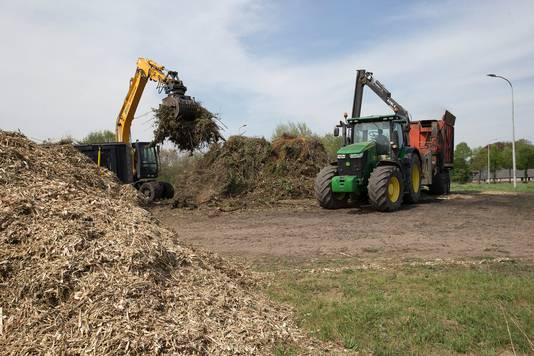 Het paasvuur in Velswijk werd vorig jaar ook al niet ontstoken, door de destijds heersende droogte.