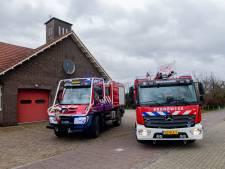 De brandweer in Maartensdijk kan éindelijk de kazerne verbouwen, zodat de bluswagens er weer in passen