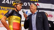 """Naesen viert tot halfzes einde van de Tour met zijn team: """"We hadden iets te vieren"""""""