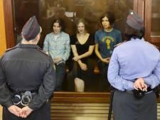 Twee jaar cel voor leden punkband Pussy Riot
