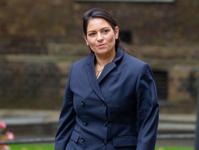 De Britse minister van Binnenlandse Zaken Priti Patel.