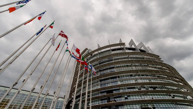 Europees Parlement in Straatsburg Beeld ANP