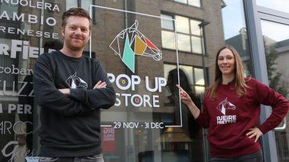 Pjeirefretter-koppel Tine en Jens stellen nieuw winterbier voor én openen pop-upwinkel