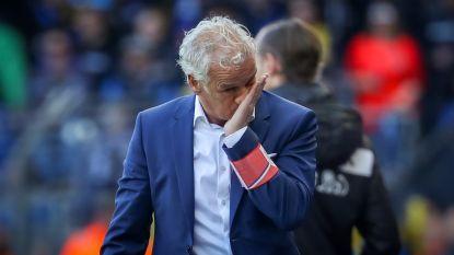 """Rutten goudeerlijk: """"Als je naar het geleverde spel kijkt, verdiende Club het meer om te winnen"""" - Leko akkoord"""
