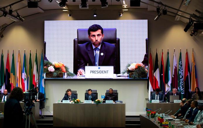 De OPEC vandaag in conclaaf op het hoofdkantoor in Wenen, Oostenrijk.