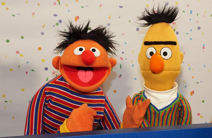 Bert (rechts) en Ernie uit Sesamstraat.