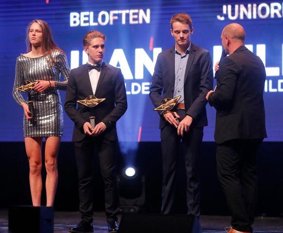 Julie De Wilde, Dries Verstappen en Ilan Van Wilder werden Flandriens van de Toekomst.