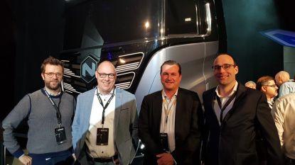 Bouwbedrijf Aertssen kiest voor waterstofvrachtwagens en gaat zelf waterstof produceren