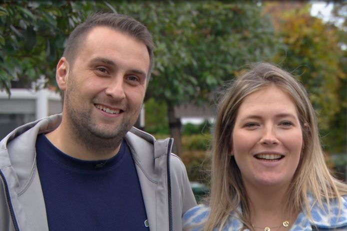 Ricardo en Kelly zijn blij met het eindresultaat.