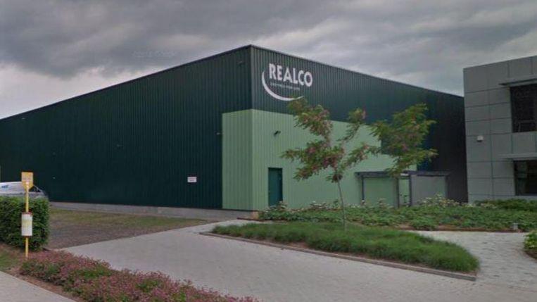 Het zou gaan om een opslagplaats van Realco.